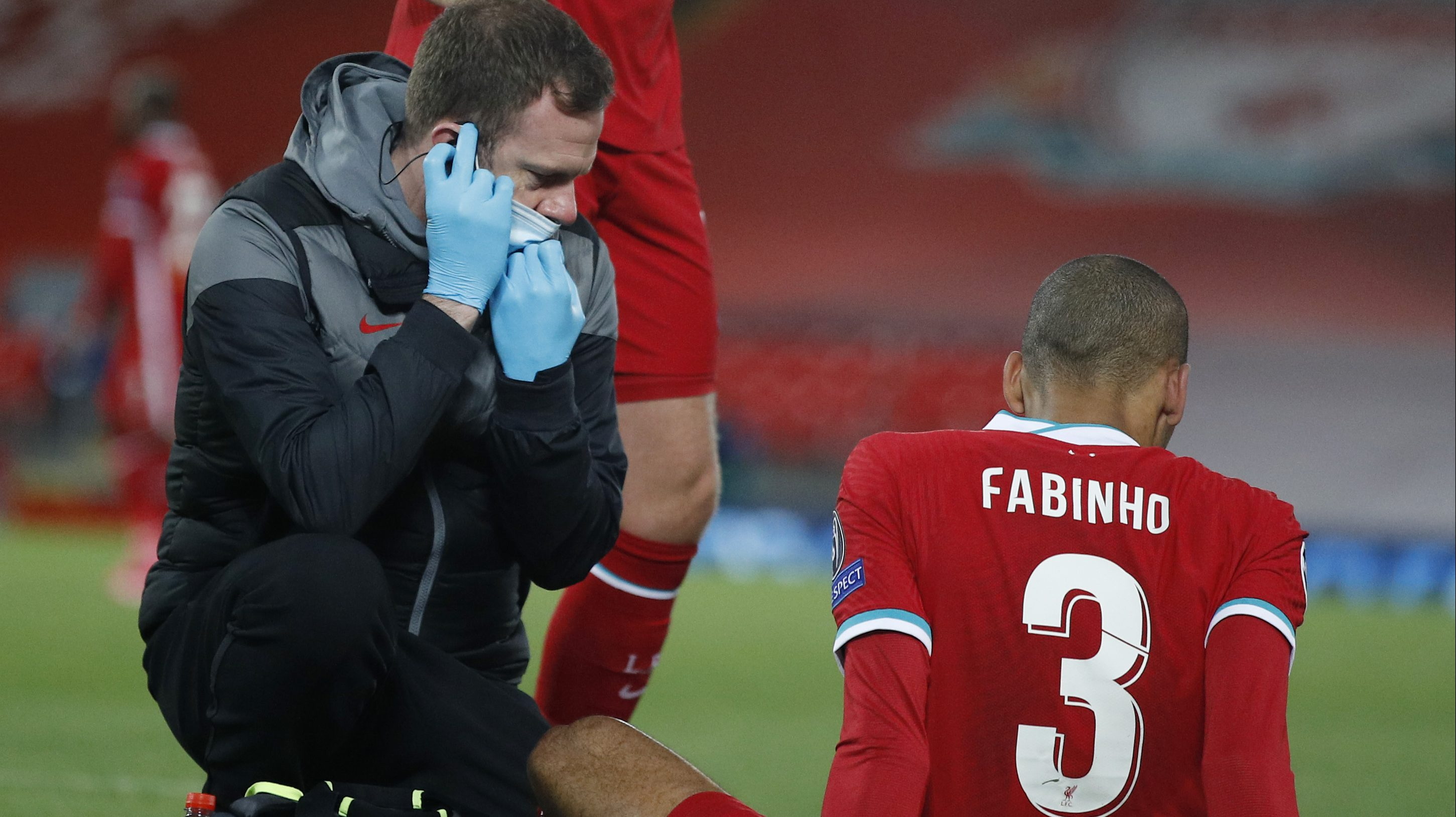 Fabinho injury update: Klopp says 'just a matter of how long' of absence