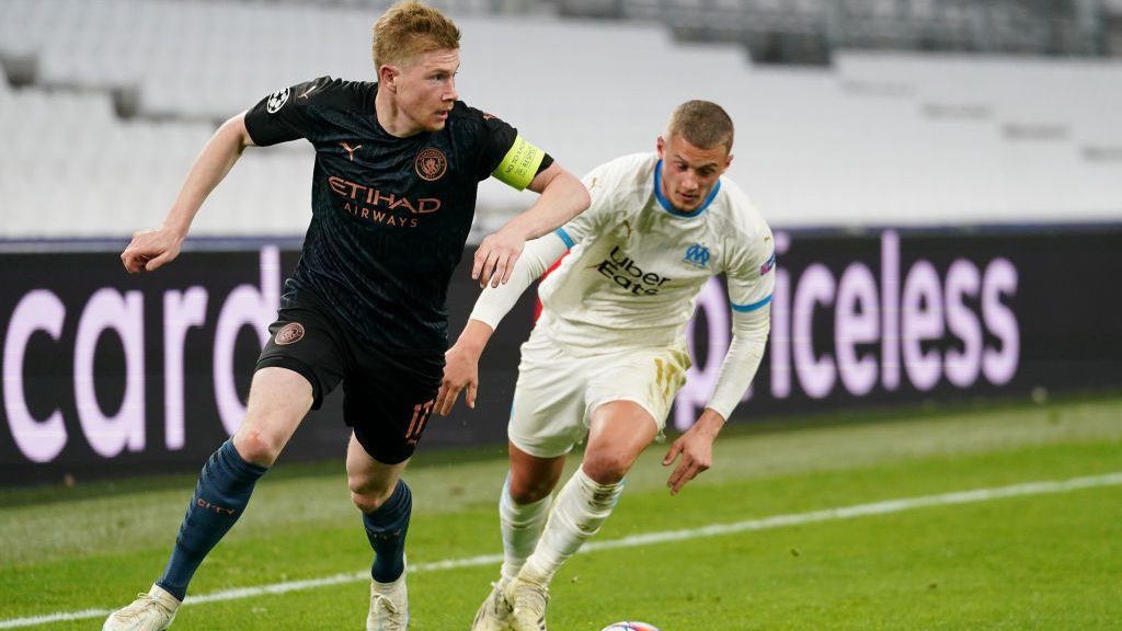Manchester City wins easy as you like at Marseille