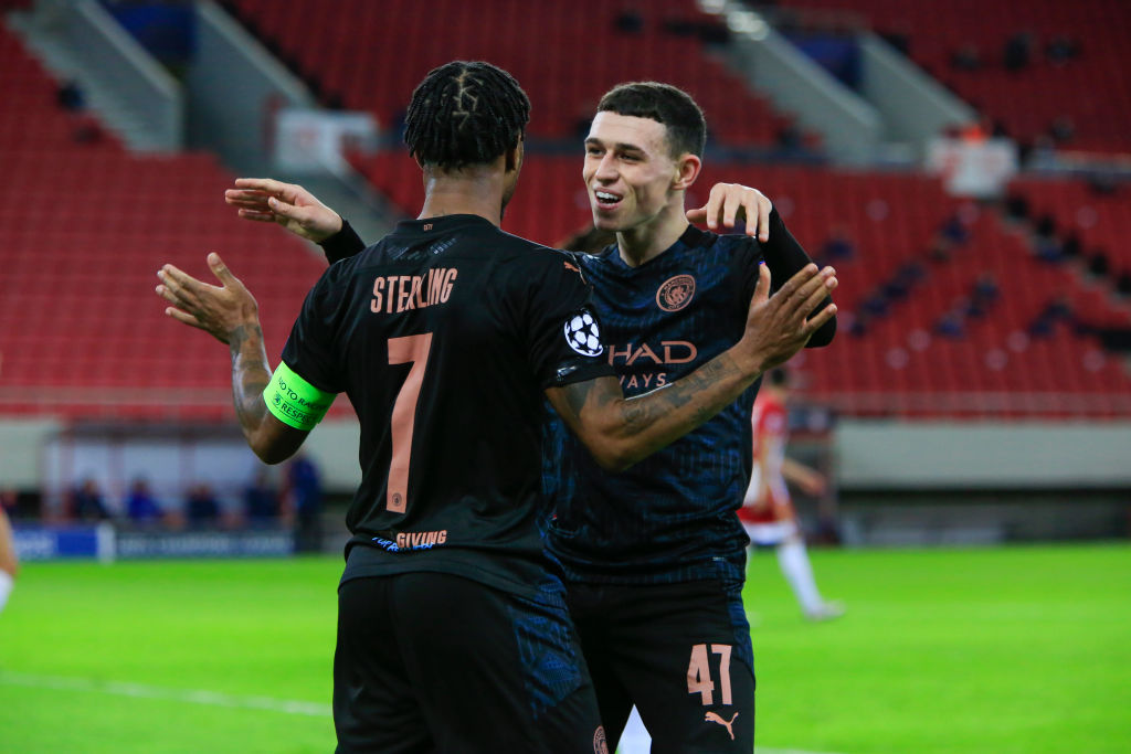 Olympiacos Manchester City What Did We Learn As Man City Advanced