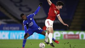 Leicester City v Manchester United - Emirates FA Cup - Quarter Final - King Power Stadium